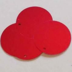 Pailettes colore rosso