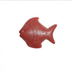Pesce rosso scuro in resina...