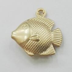 Charm pesce dorato in 3d...