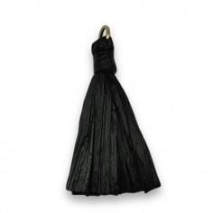 Nappina in rafia color nero...