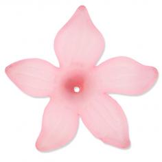 Charm fiore in rosa...