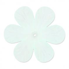 Charm fiore verde acqua...
