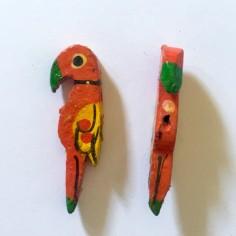 Coppia di Perline in legno...