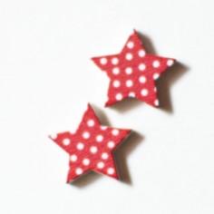 Coppia di cabochons stelle...