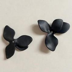 Charm Calla nero matt in 3D...