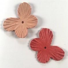 Coppia di farfalle in pelle...