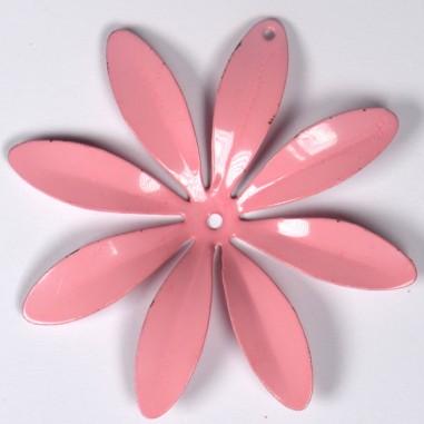 Fiore Vintage d'annata color rosa con...