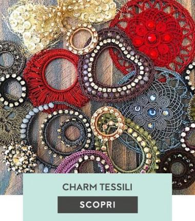 Charms tessili