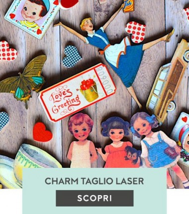 Charms taglio laser