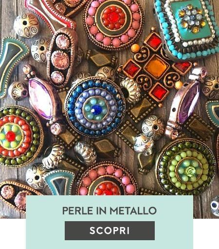 Perle in metallo