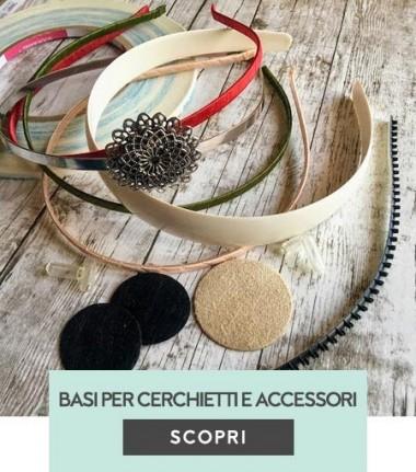 Basi per cerchietti e accessori