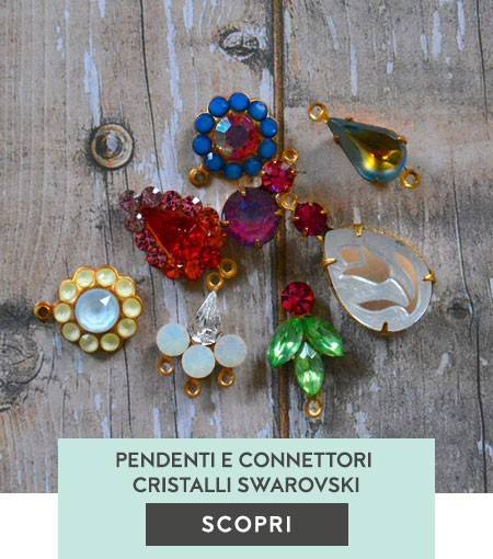 Pendenti e Connettori Cristalli Swarovski