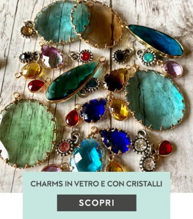 Charms in Vetro e con cristalli